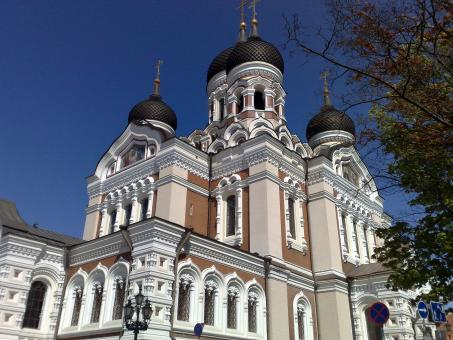 Orthodox Church in Tallin - Free Stock Photo