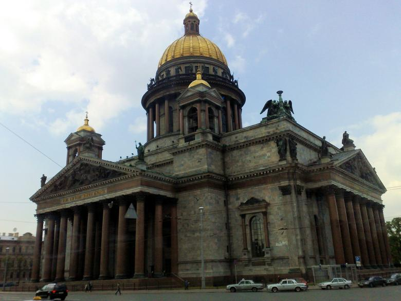 St Isaac Cathedral, St Petersburg, Russi Free Photo