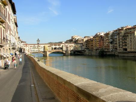 Vecchio Bridge in Florence, Italy - Free Stock Photo