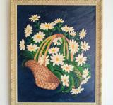 Free Photo - Painting of Basket with flowers