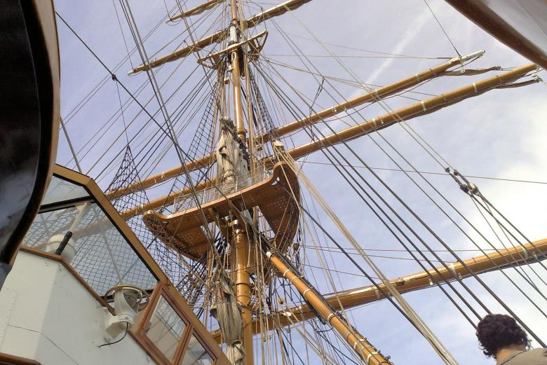 Free Stock Photo of Detail on sailer Created by David Pellon