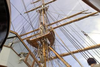 Detail on sailer Free Photo