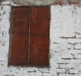 Free Photo - Rusted window panel
