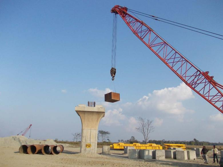 Free Stock Photo of Pillar at construction site Created by Bijit sharma