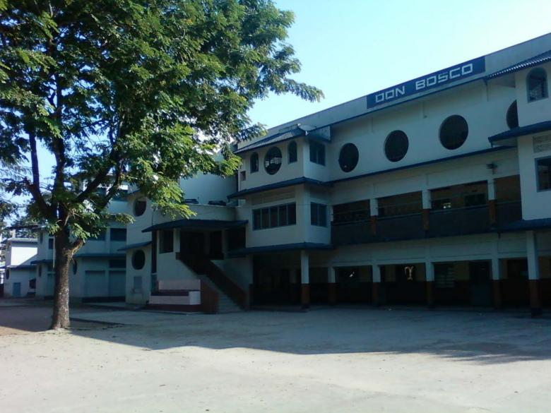 Free Stock Photo of School building Created by Bijit sharma
