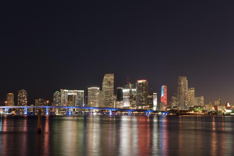 Free Stock Photo of Downtown Miami Created by Barry Haynes