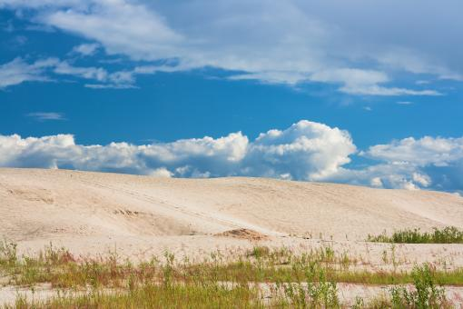 sand and blue sky - Free Stock Photo