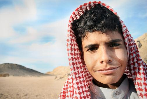 Egyptian Bedouin boy - Free Stock Photo