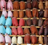 Free Photo - Morocco shoe display
