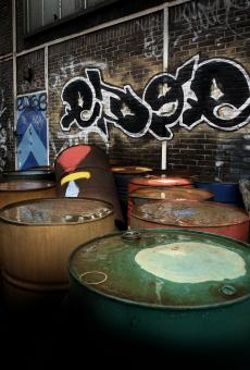Urban oil cans/drums - Free Stock Photo