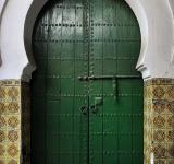Free Photo - Old green door