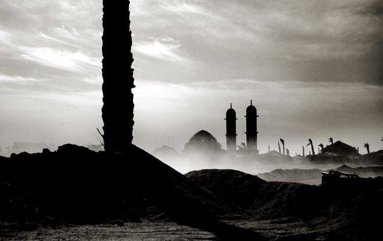 Free Stock Photo of Mosque landscape in Egypt Created by Merelize