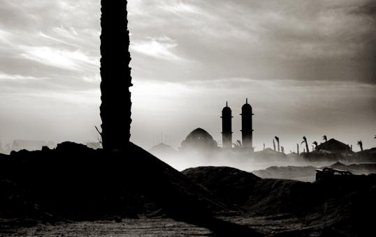 Mosque landscape in Egypt - Free Stock Photo