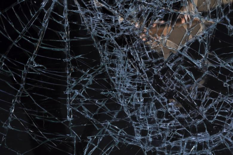 Free Stock Photo of Broken Glass Created by Rachael Towne