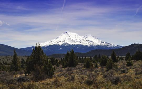 Mount Shasta - Free Stock Photo
