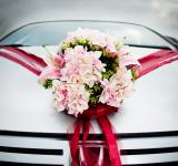 Free Photo - Wedding car decorated with flowers