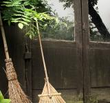 Free Photo - Broomsticks by a farm