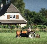 Free Photo - Farmer on tractor
