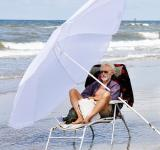Free Photo - Man relaxing on beach