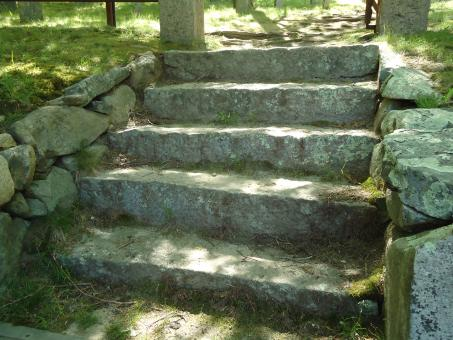 Stone steps stairs - Free Stock Photo