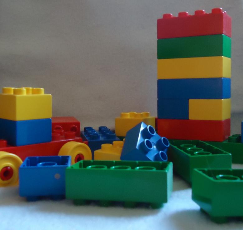 Free Stock Photo of Lego Toys Created by Katharine Sparrow