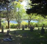 Free Photo - Cemetery with Pond View