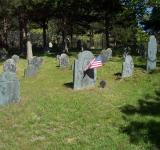 Free Photo - Headstone with Flag