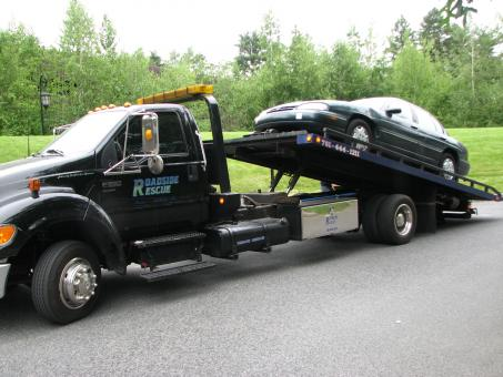 Car on Tow Truck - Free Stock Photo