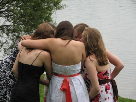Group Hug Girls - Free Stock Photo