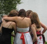 Free Photo - Group Hug Girls