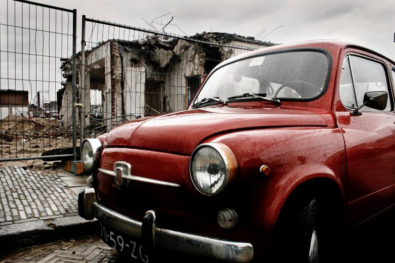 Free Stock Photo of Fiat mini classic car Created by Merelize