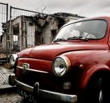 Free Photo - Fiat mini classic car