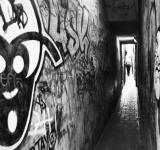Free Photo - Small graffiti passage way