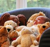 Free Photo - Baby and teddy bears