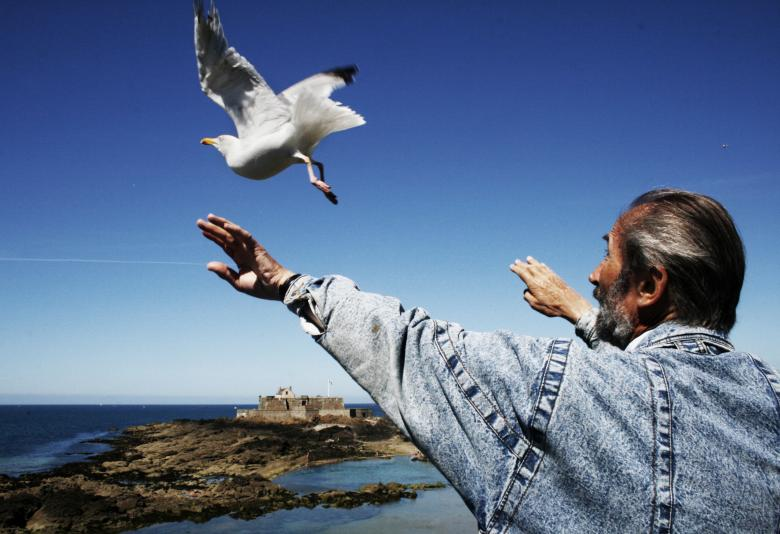Free Stock Photo of Bird whisperer Created by Merelize