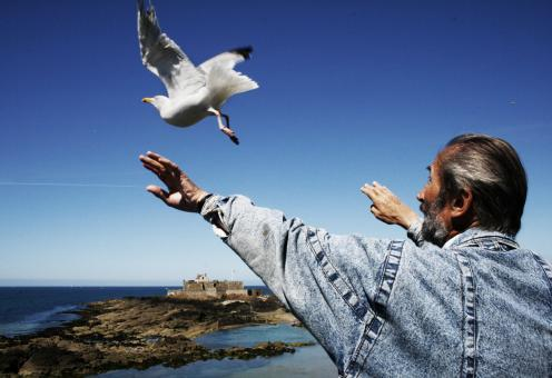 Bird whisperer - Free Stock Photo
