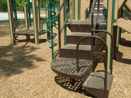 Playground Slide Steps Stairs - Free Stock Photo