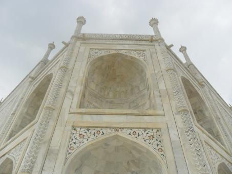 Taj mahal side view - Free Stock Photo