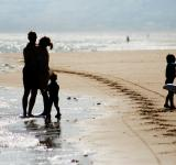 Free Photo - Happy family on the beach