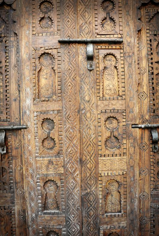 Free Stock Photo of Wooden door Created by Merelize