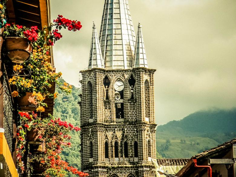 Free Stock Photo of Iglesia Jardín - Antioquia Created by Matias Espinosa Botero