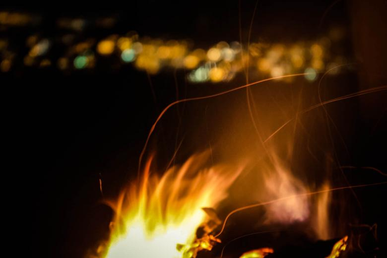 Free Stock Photo of Fire Created by Matias Espinosa Botero
