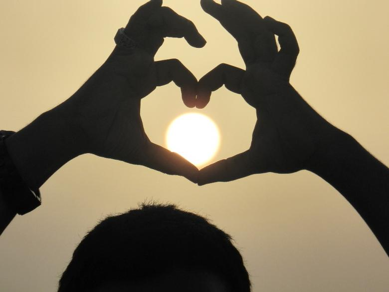 Free Stock Photo of Sun of love Created by basem