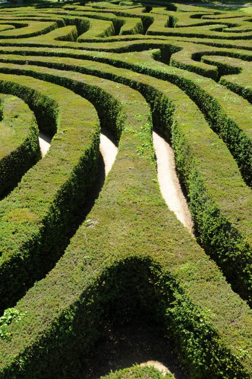 Free Stock Photo of Maze Created by Melissa Nicklen