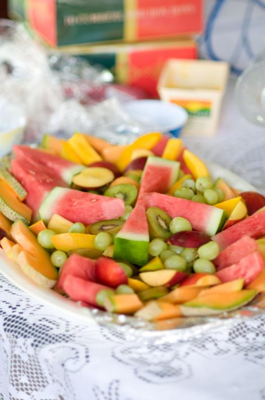 Free Stock Photo of Fruit Platter Created by mlle