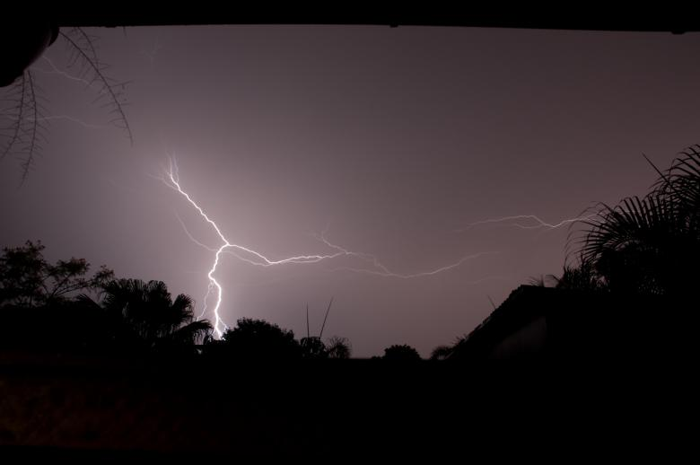 Free Stock Photo of Lightning Created by mlle