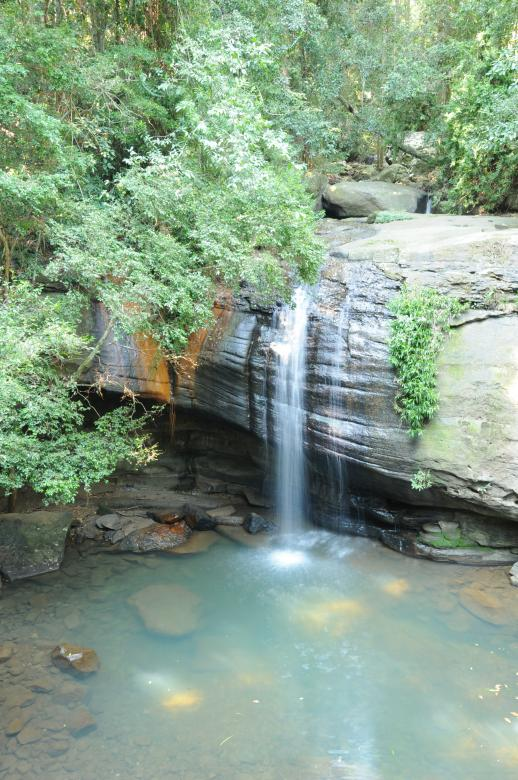 Free Stock Photo of Rainforest Waterfall Created by mlle