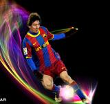 Free Photo - Messi Playing football Wallpaper