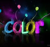 Free Photo - 3D Colour Text