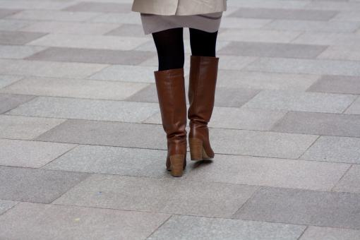 Woman in boots - Free Stock Photo
